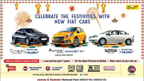 Fiat Special Festival offer