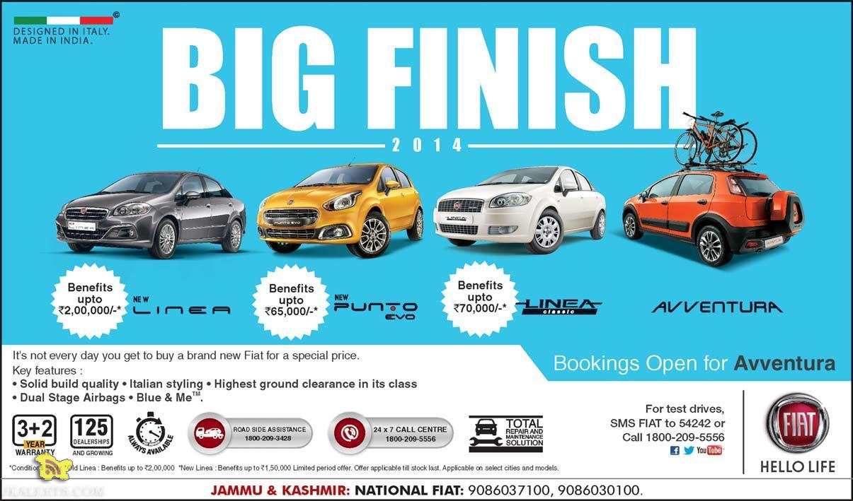 Fiat offer in jammu and kashmir