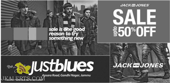 Justblues latest offer on Jack and Jones Sale upto 50% Off
