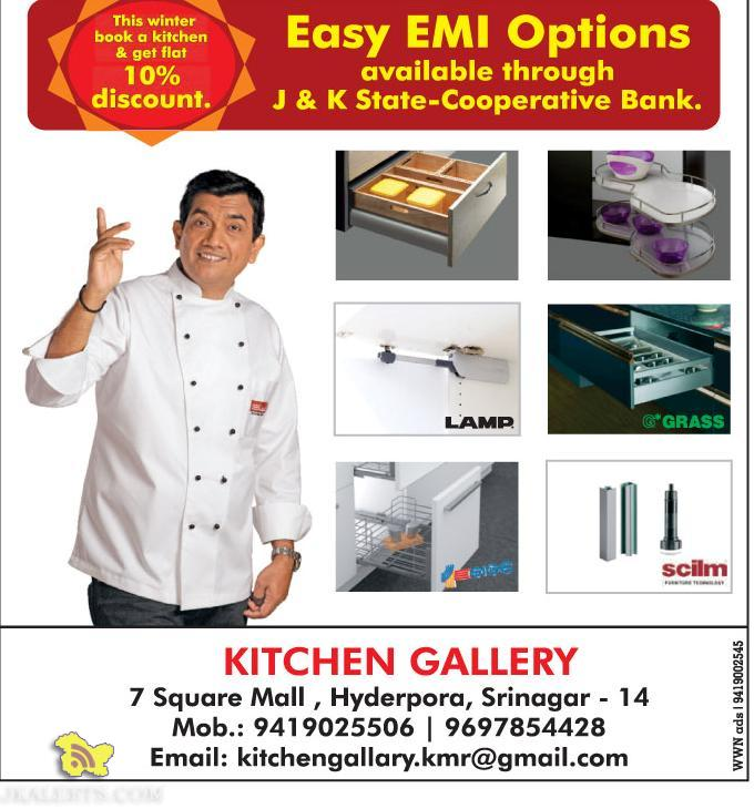 Book a kitchen and get Flat 10% discount