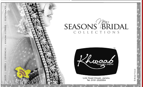 khwaab jammu latest collection
