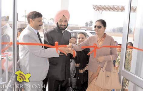 DS Mann Inaugurating Doon International School at Jammu