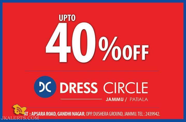 Sale in Dress Circle Jammu, Upto 40% Off