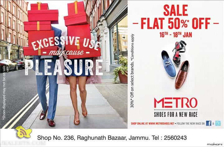 Metro Shoes Discount offer