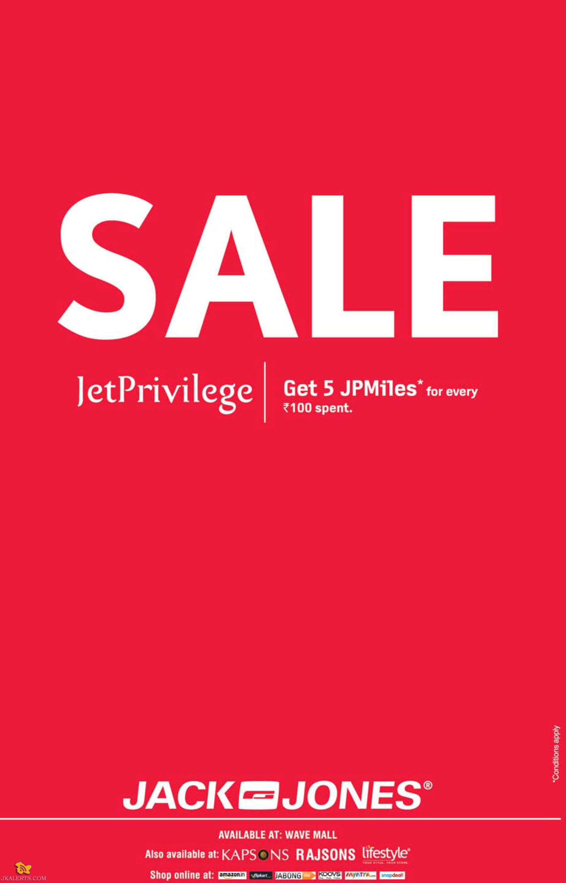 Sale on Jack and Jones