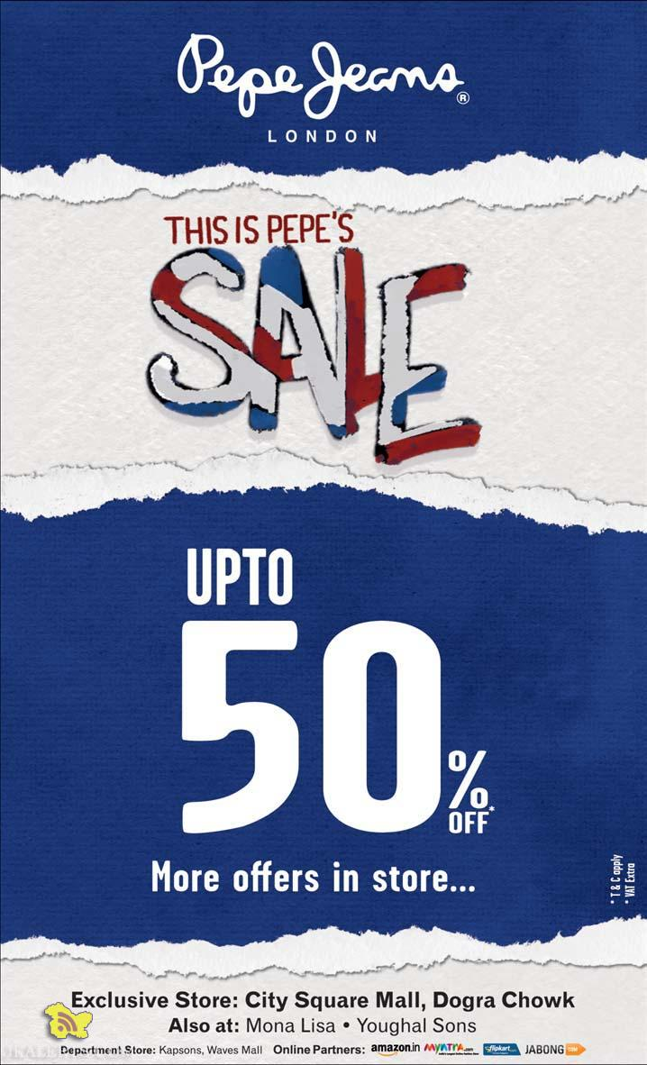 Pepe Jeans Sale in City Square Mall