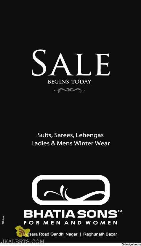 Bhatia Sons Sale in j&K