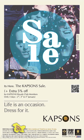The Kapsons Sale in Jammu at Wave Mall & Apsara Multiplex