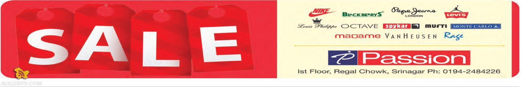 Sale in Passion, Regal Chowk Srinagar
