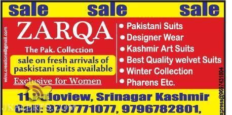 Pakistani Suits • Designer Wear Kashmir • Art Suits • Best Quality welvet Suits • Winter Collection • Pharens Etc.
