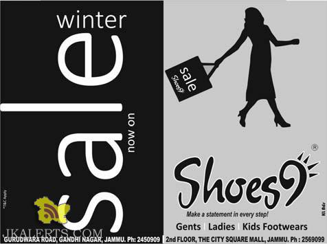 Shoes9 sale is on
