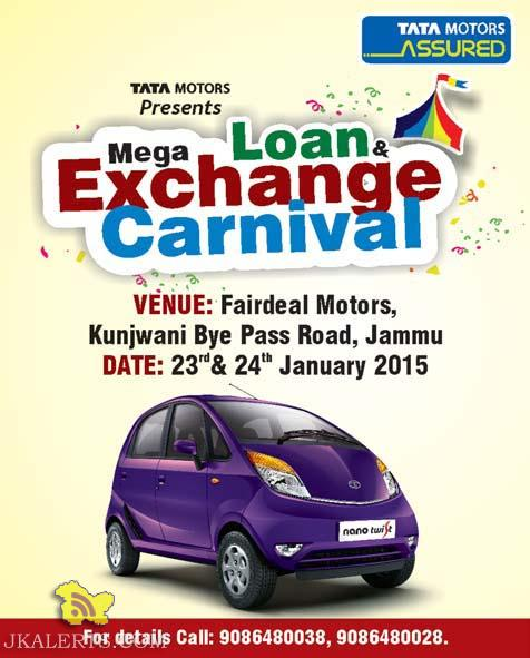 Mega Loan & exchange Carnival Tata motors
