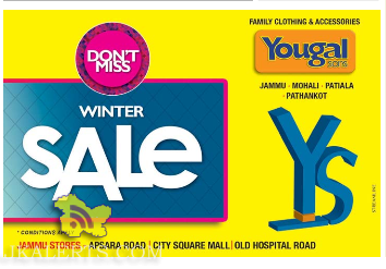 Yougal Son's Winter sale, Apsara road , City Square Mall, Old Hospital Road