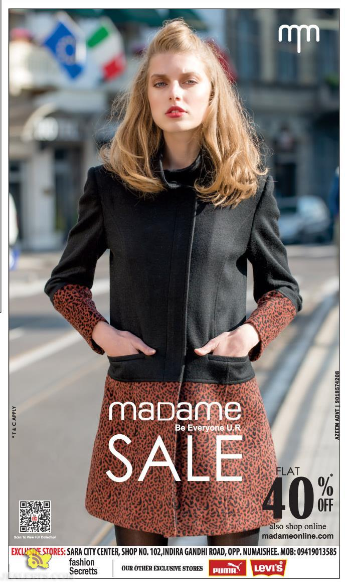 Madame Sale Flat 40% off