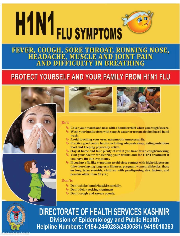 H1N1 Flu Symptoms