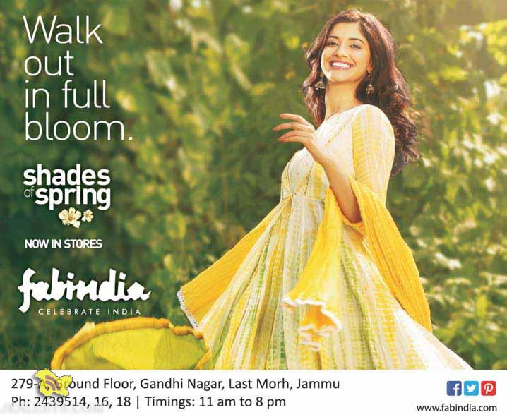 Fabindia now in Jammu