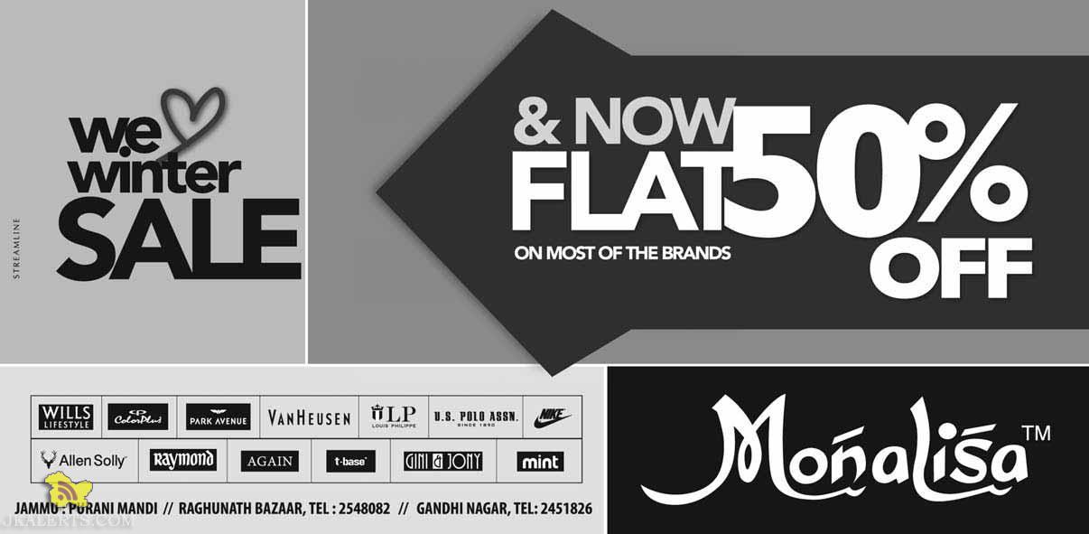 Monalisa Flat 50% Off Sale