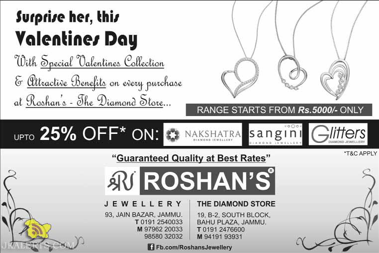 Special Valentines Collection, Sale on diamond