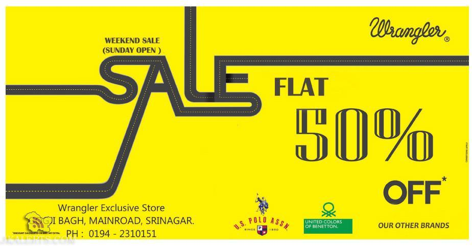 Sale on Wrangler in Srinagar