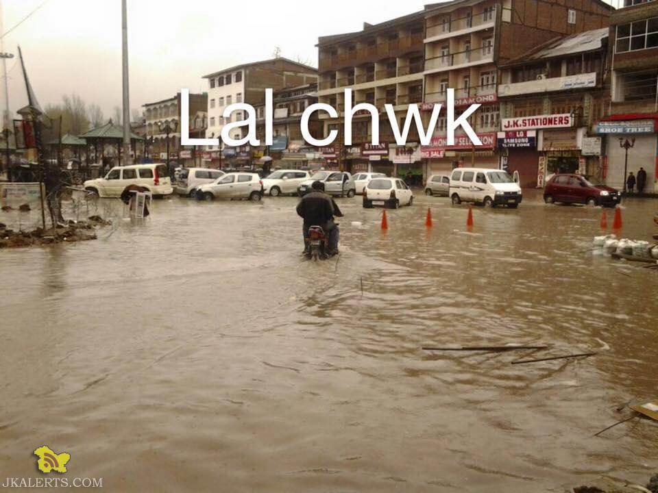 Flood Situation in Srinagar