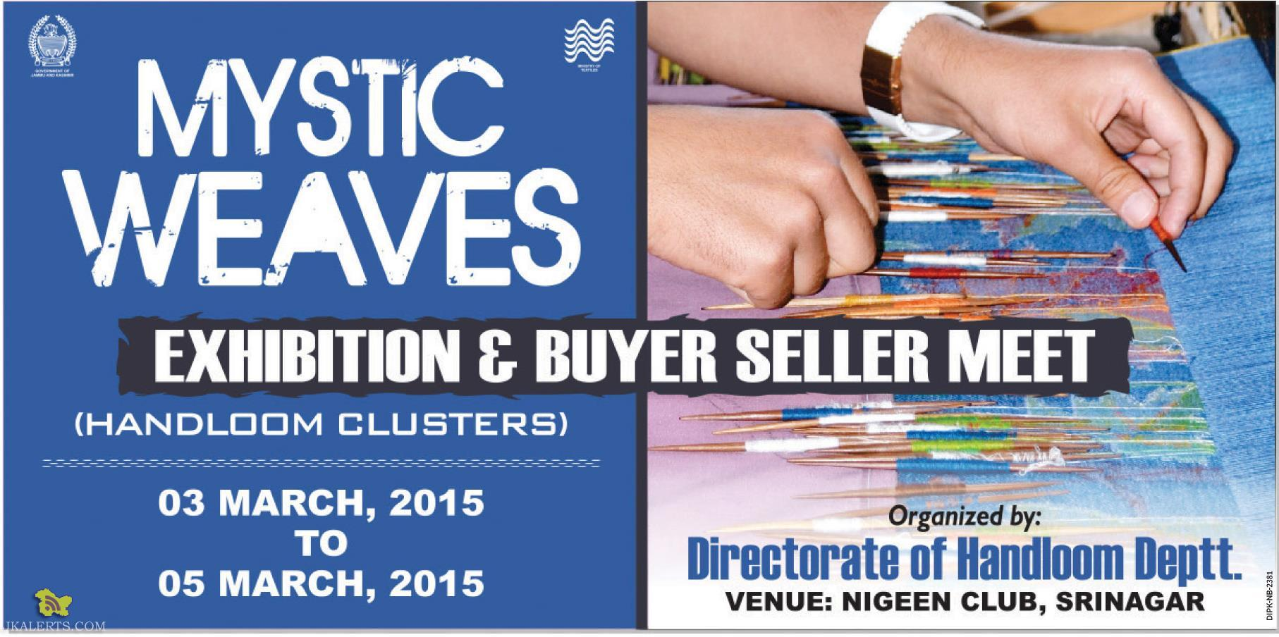 Mystic Weaves Exhibition & Buyer Seller Meet Srinagar