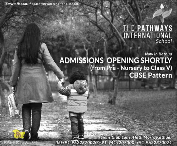 admision open in kathua