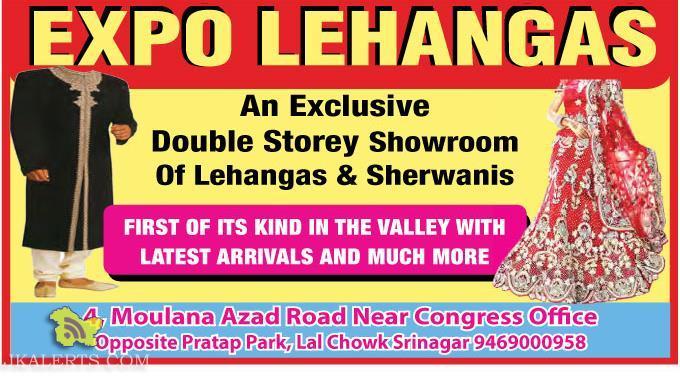 Expo Lehangas in srinagar