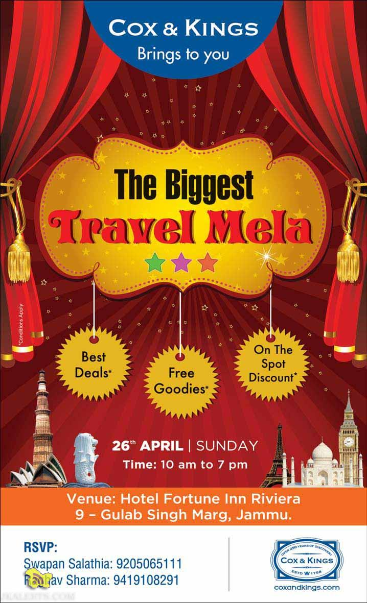 Cox and Kings Biggest Travel mela