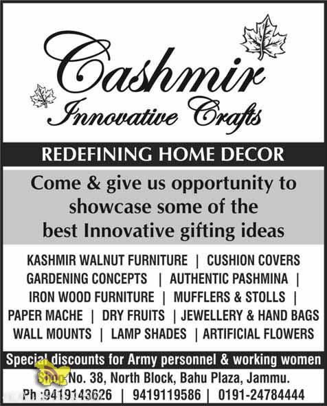 Cashmir Innovative Craft Special Discount