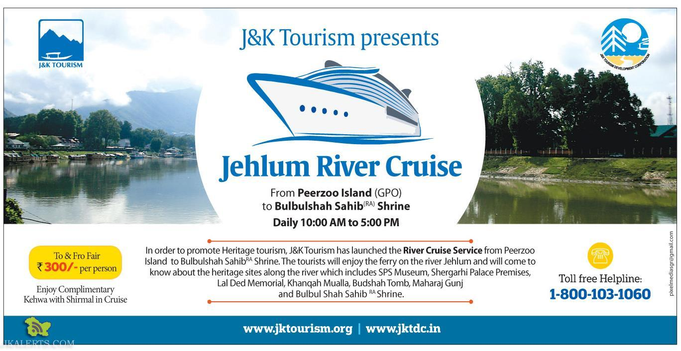 J&K Tourism Jehlum River Cruise