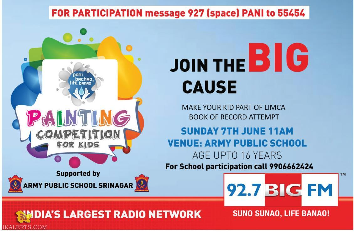 Painting Competition, LIMCA BOOK OF RECORD ATTEMPT