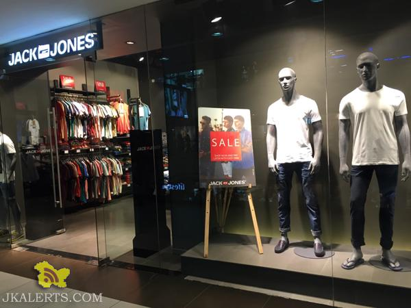 JACK AND JONES End of Season Sale, Latest Offers Deals Discounts , Sale on Branded Clothings, Sale in Wave mall City Square Gandhi Nagar and Raghunath bazar
