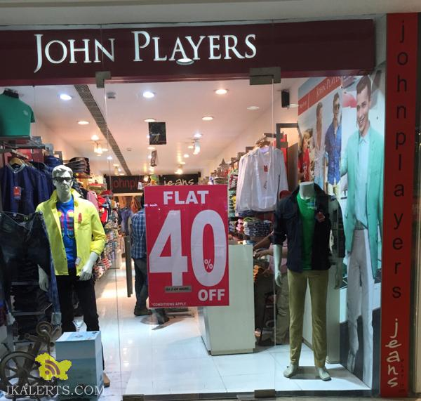 John Players End of Season Sale, Latest Offers Deals Discounts Sale on branded cloths, Sale in wave mall city sqare