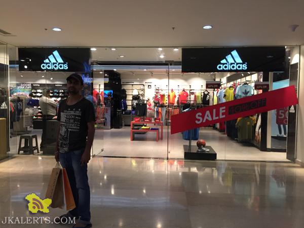 Adidas End of Season Sale , Latest Offers Deals Discounts Adidas sale in Wave mall, Sale on Branded shoes in raghunath bazar Gandhi nagar City Square Jammu