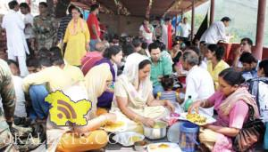 Mata Jwala Ji in south Kashmir's Khrew festival