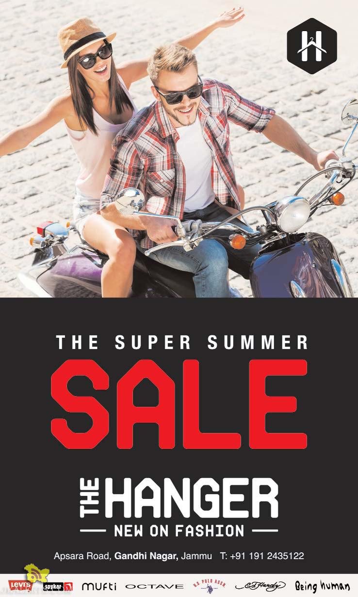 Super Summer Sale on The Hanger Sale on Levis, Spykar ,Mufti, Octave, Being human