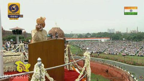 Here is a short summary and highlights of Prime Minister Narendra Modi's Independence Day Speech