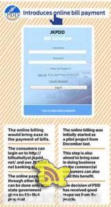 JKPDD launches billsahuliyat electricity online bill payment