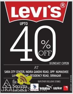 levis Sale in Srinagar