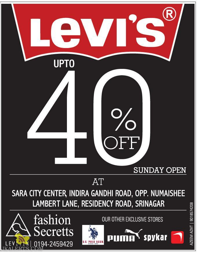 levis Sale in Srinagar