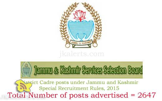 JKSSB-Recruitment-2015