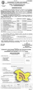 Free Skill Development Vocational Training, Govt. Polytechnic, Jammu