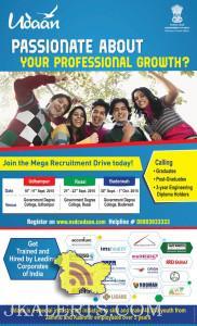 Udaan Mega Recruitment Drive Udhampur, Reasi, Baderwah