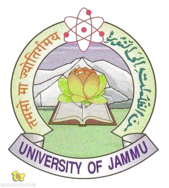 Jobs in UNIVERSITY OF JAMMU