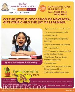 ADMISSIONS OPEN FOR BANYAN INTERNATIONAL SCHOOL