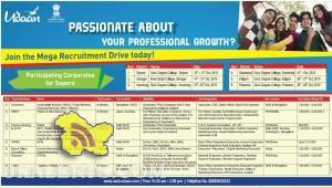 Udaan Mega Recruitment Drive Sopore, Srinagar, Anantnag, Ganderbal, Kulgam, Pulwama