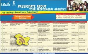 Udaan Recruitment Drive Kulgam Ramban Pulwama Jammu Udhampur J&K