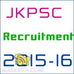 JKPSC Assistant Architect in Housing and Urban Development Department Jobs