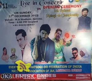 Live Concert of Bohemia Gurdas Mann, Gippy Grewal, Gurpreet Ghuggi and many more