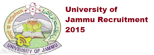 Associate Professor, Assistant Professor, Professor jobs in Jammu University, Employment News 2015